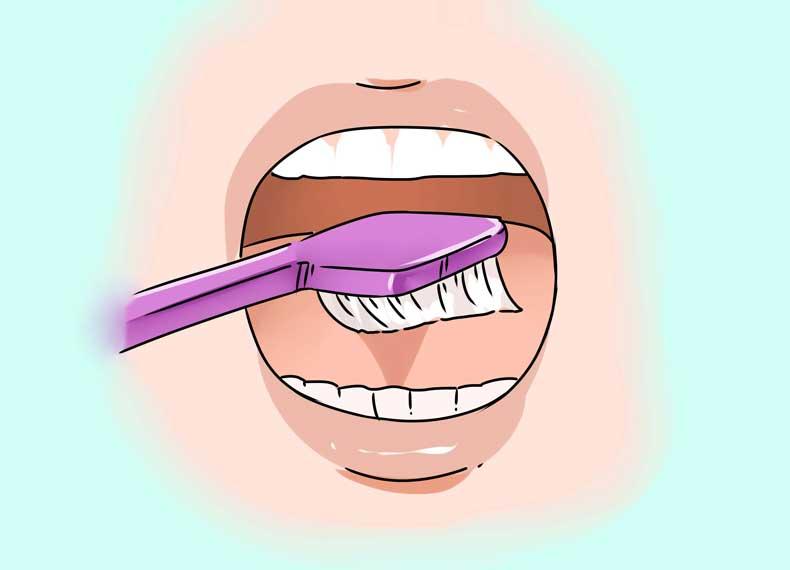 از بین بردن سفیدک زبان
