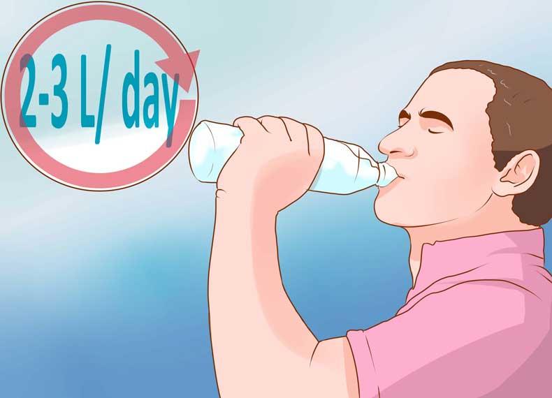 مصرف آب و بیماری کرون