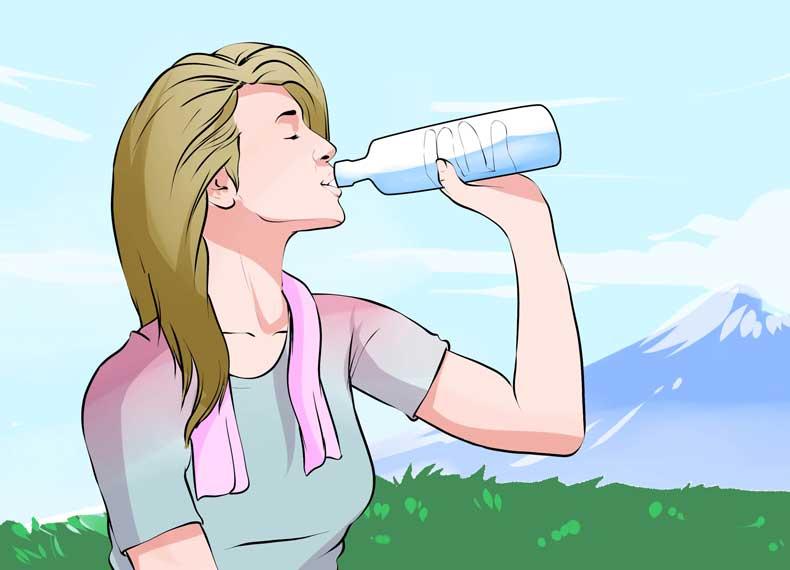 بیماران کولیت آب زیاد بنوشند