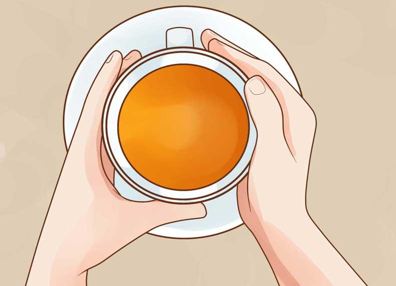 چای برای گلودرد