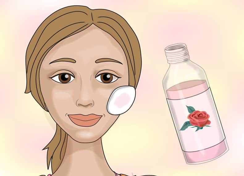 گلاب برای پوست صورت
