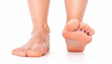 درمان سوزش کف پا