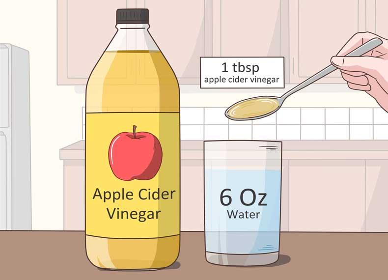 درمان رفلاکس معده با سرکه سیب