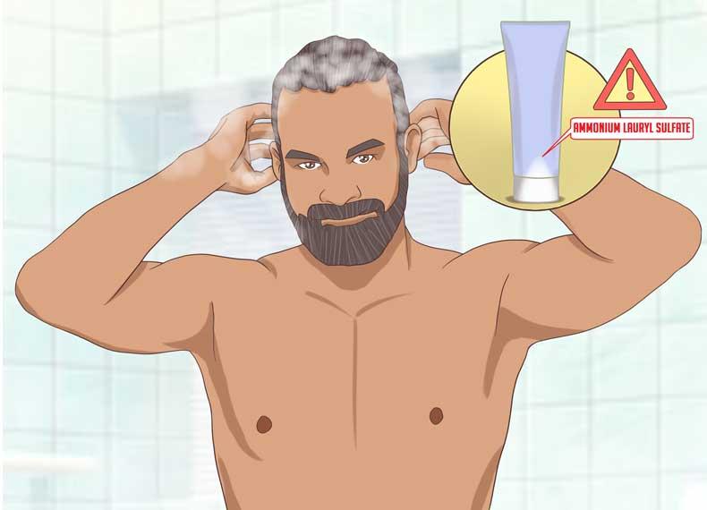 شامپوی قوی مصرف نکنید