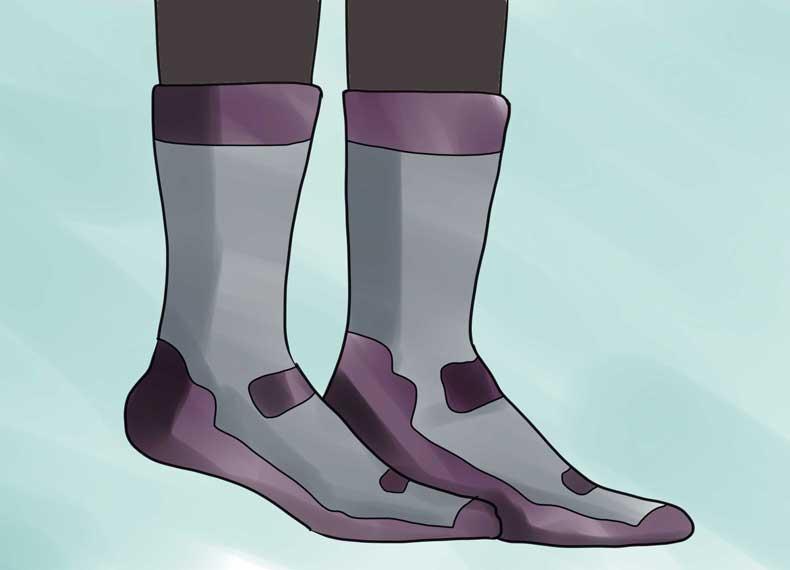 جوراب ضدقارچ ناخن