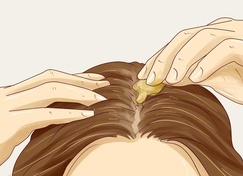 ماساژ سر برای رشد مو