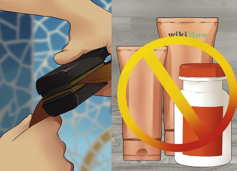 مواد مضر برای مو