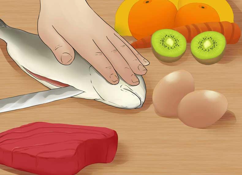 مواد غذایی تقویت مو
