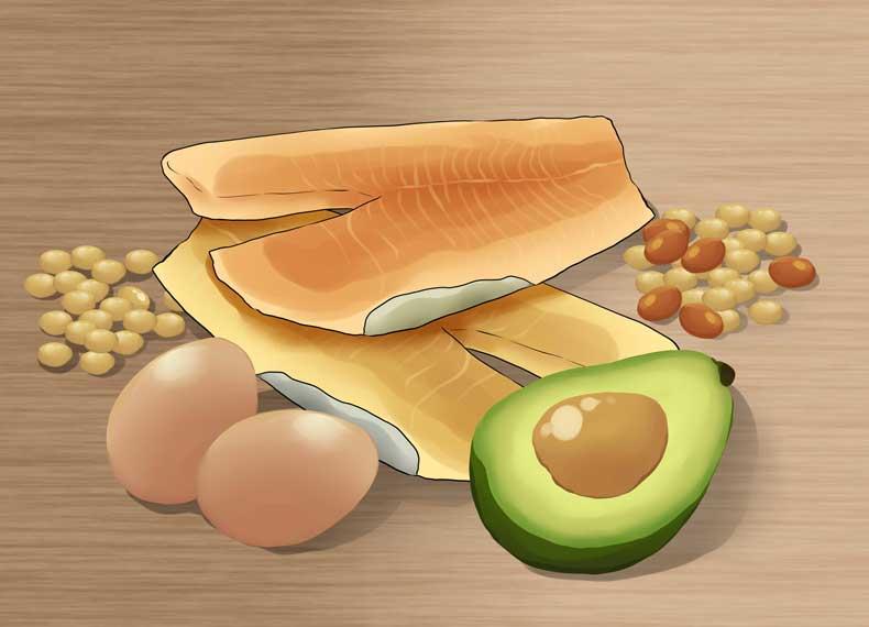 ویتامین برای رشد مو