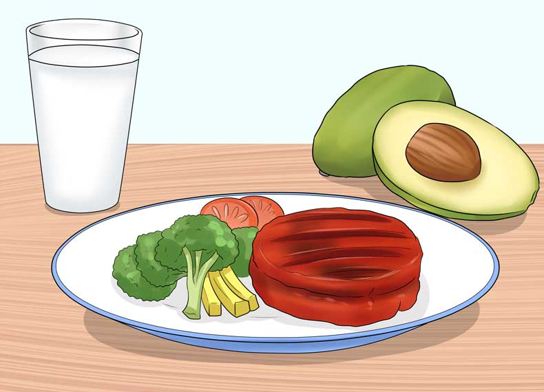 موادغذایی برای رشد مو