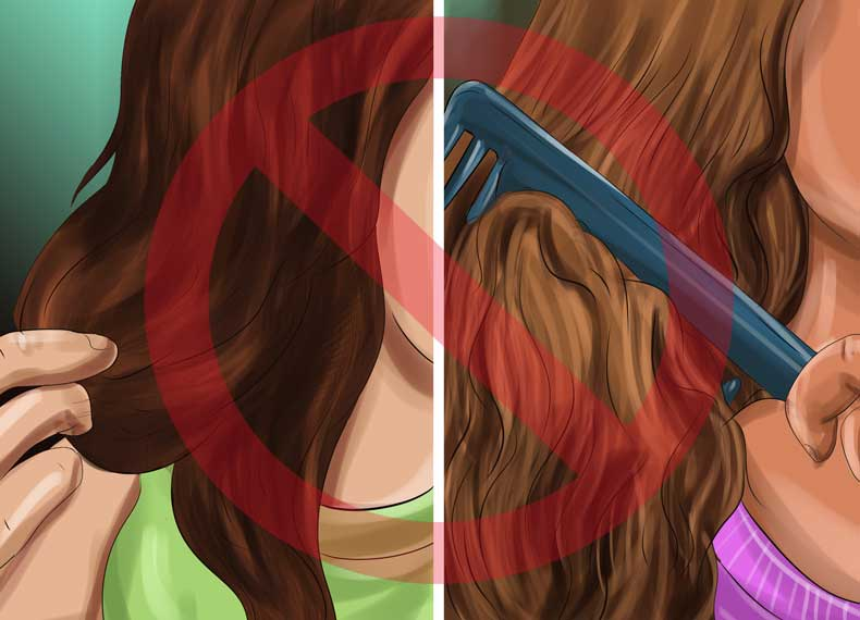 جلوگیری از چرب شدن مو