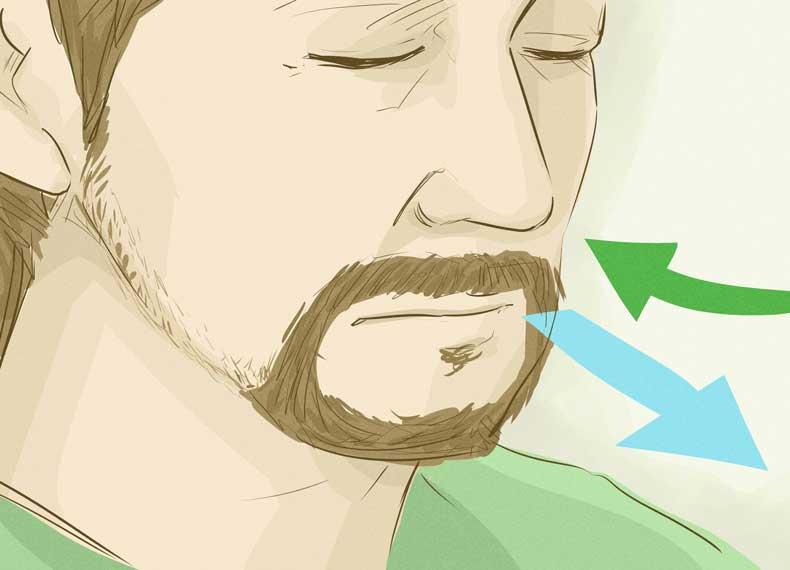 چگونگی تنفس در مدیتیشن