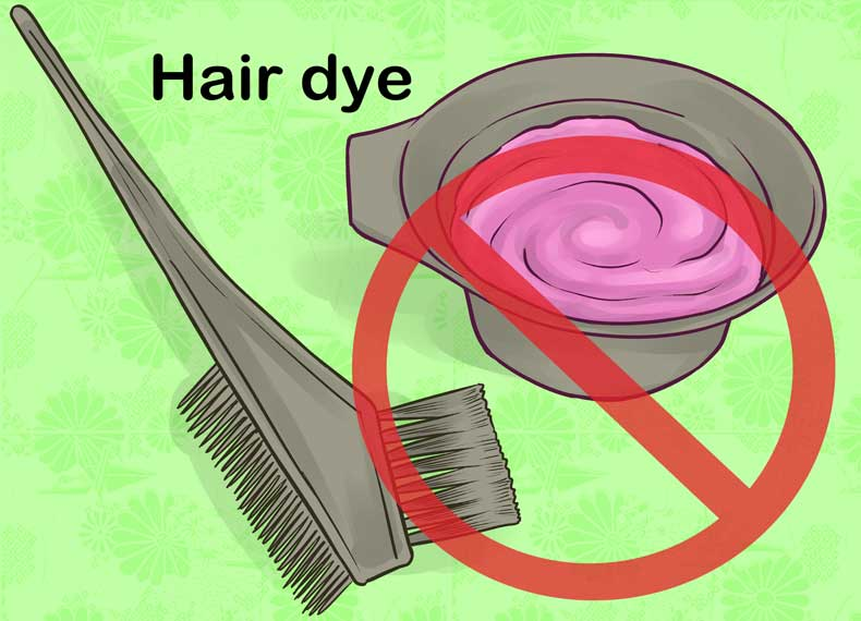 علت خشکی مو