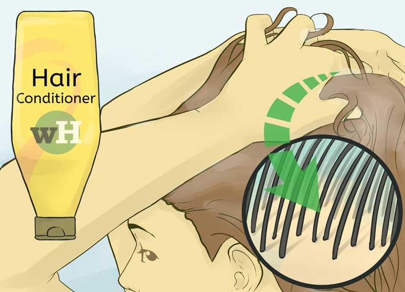 نرم کننده برای موهای خشک