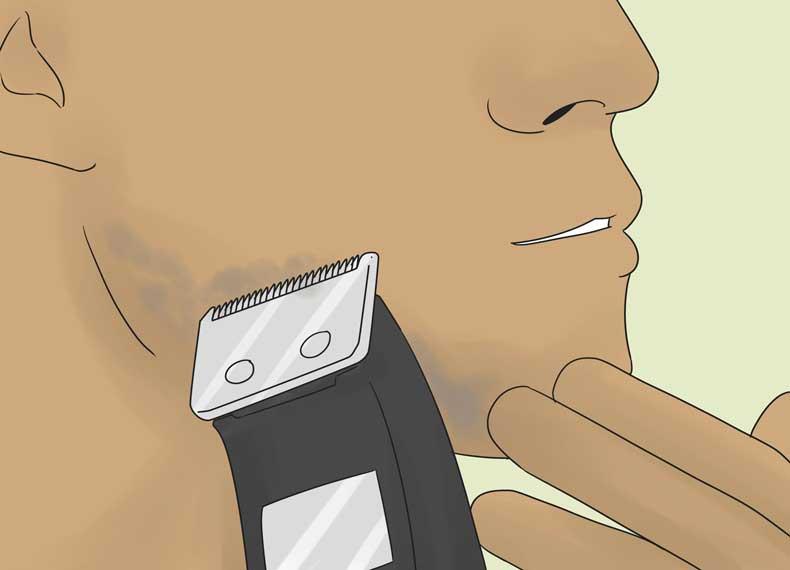 درمان موی زیر پوست