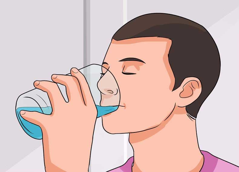 نوشیدن آب و ریزش مو