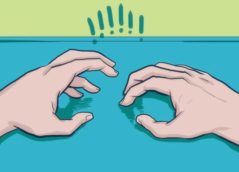 علت و درمان ناخن خوردن