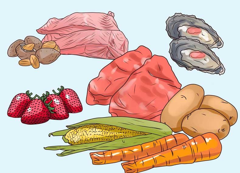 موادغذایی مفید برای ریزش مو