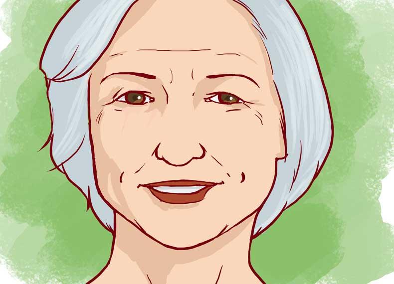 ریزش مو زنان با افزایش سن