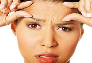 درمان چروک پیشانی