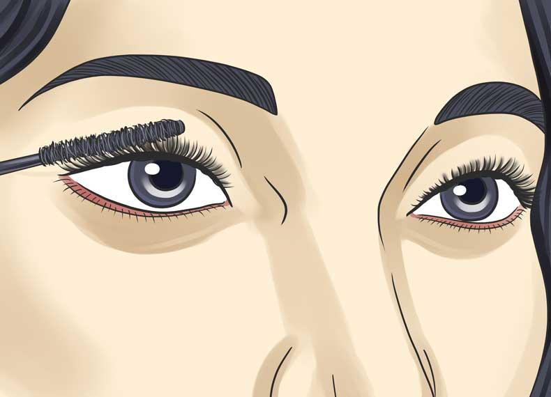 جلوگیری از چروک دور چشم
