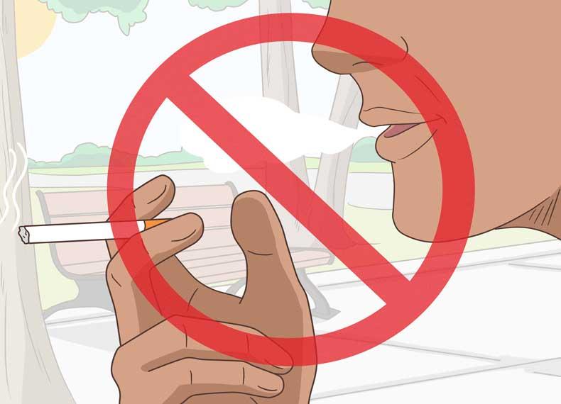 کاهش چروک با ترک سیگار