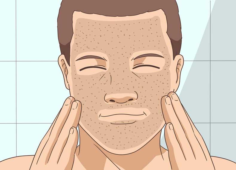 لایه برداری پوست برای صاف کردن پوست