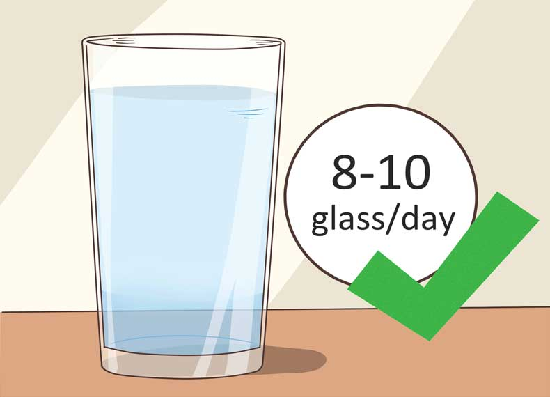 آب و کاهش تعریق