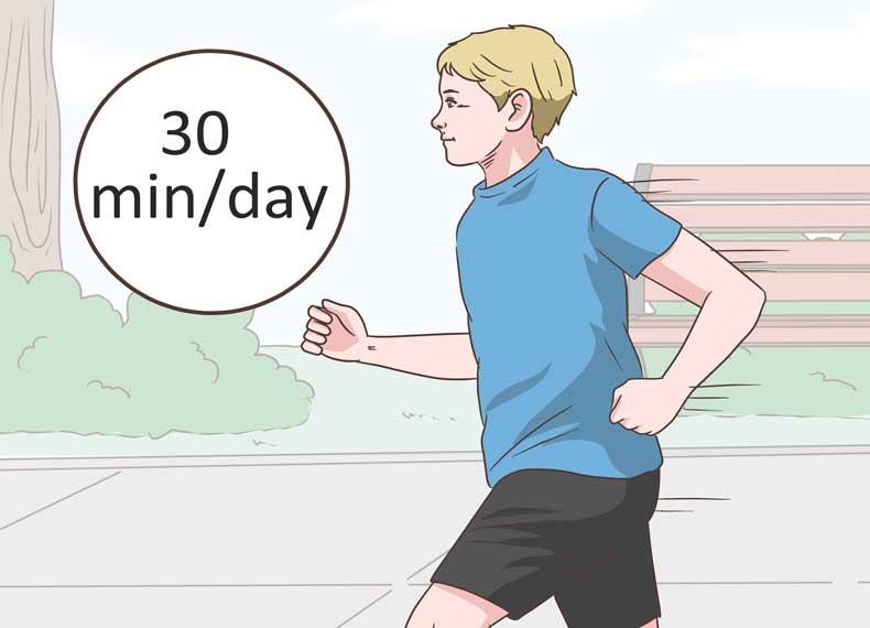ورزش و کاهش تعریق شبانه