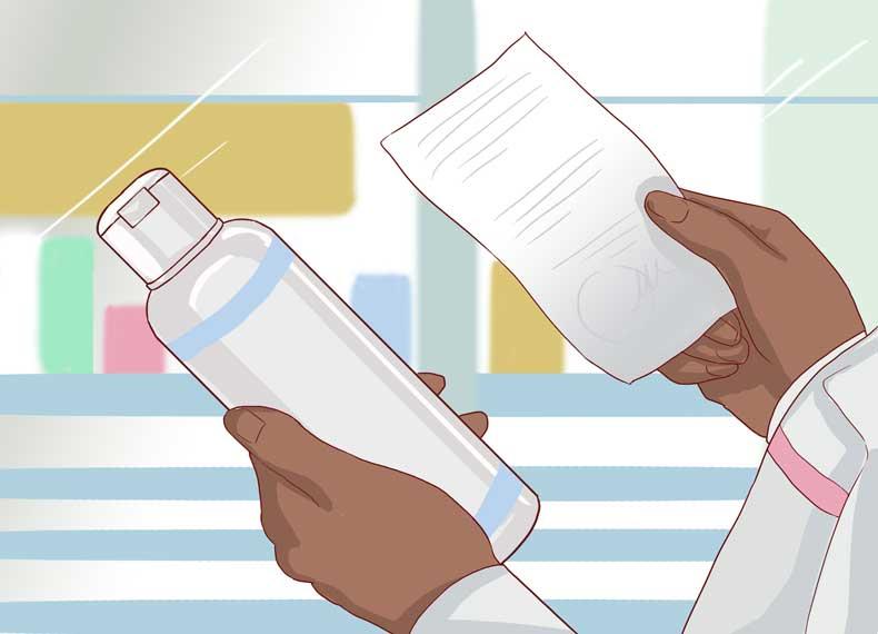 شامپوی قوی برای پسوریازیس