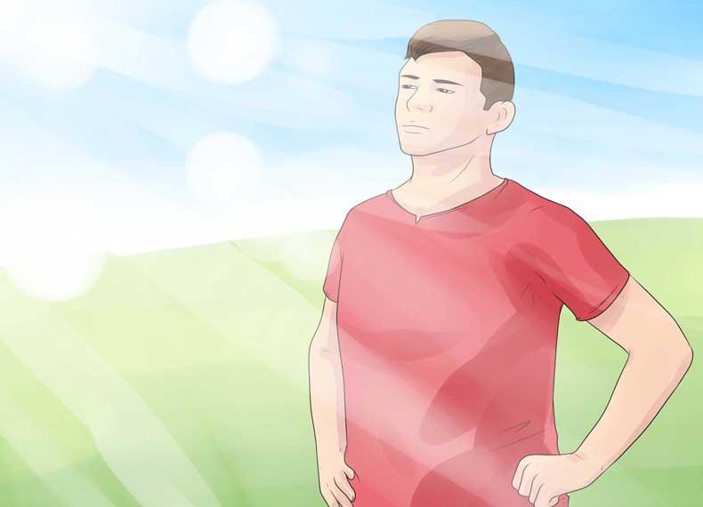درمان پسوریازیس با نور آفتاب