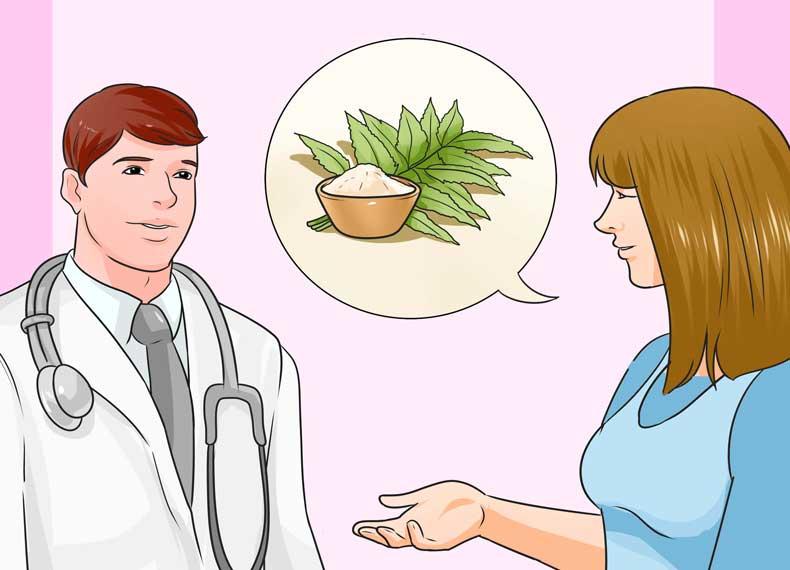 درمان گیاهی گال