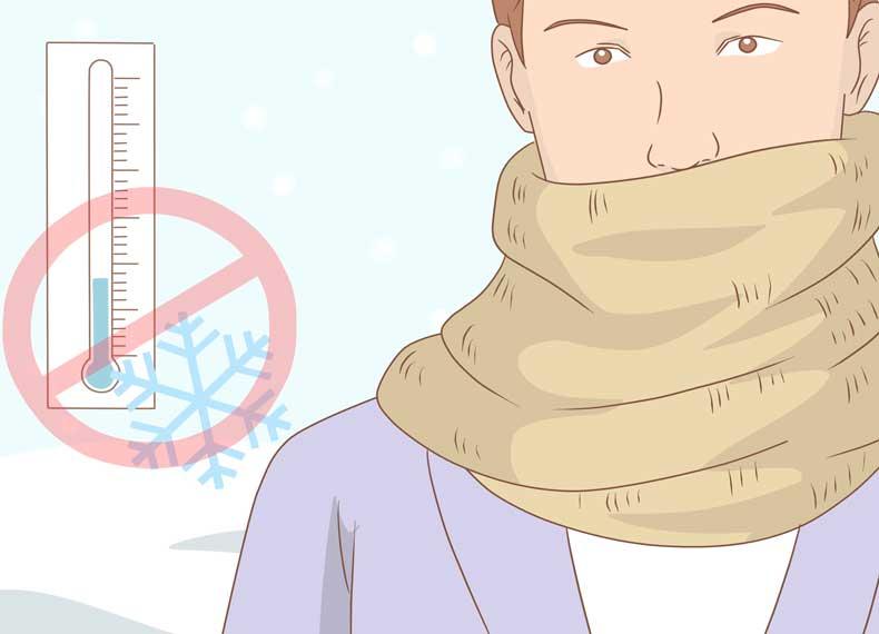 جلوگیری از کهیر سرما