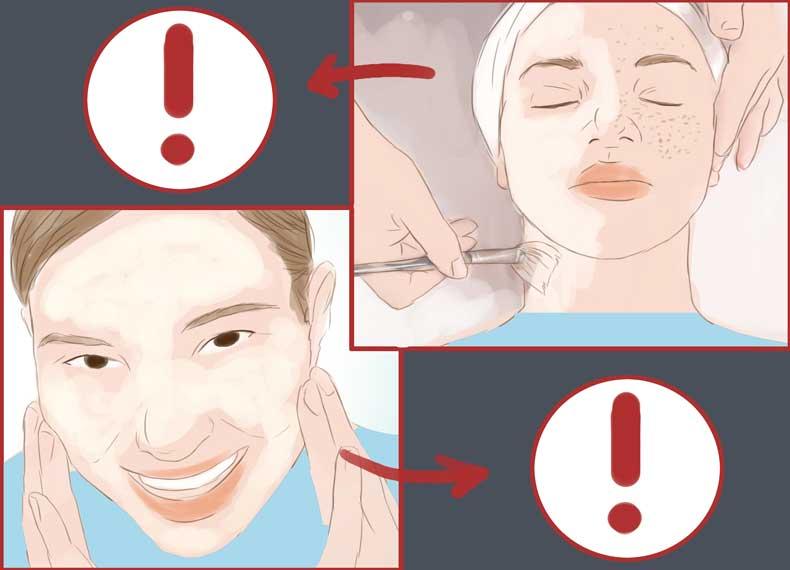 راههای درمان کک و مک