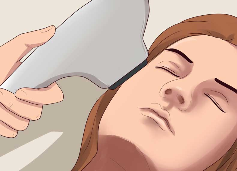 لیزر درمانی لک صورت