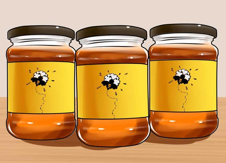 عسل معجزه در از بین بردن خال