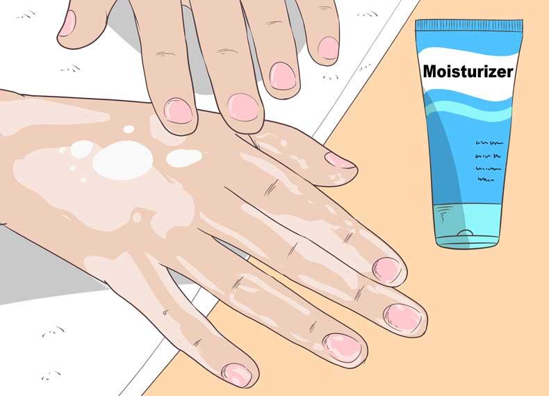 درمان صدف ناخن در خانه