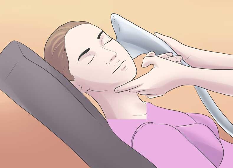 لیزر درمان یلک قهوه ای پوست