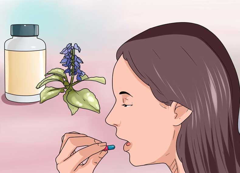 درمان گیاهی کهیر در خانه