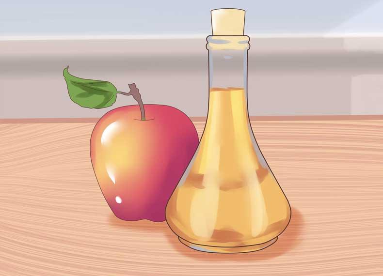 درمان پسوریازیس با سرکه سیب