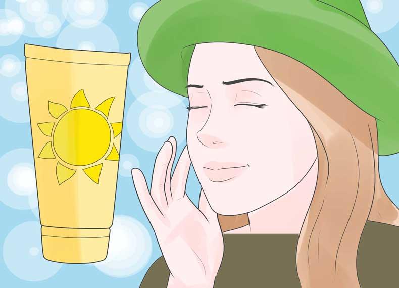 جلوگیری از آفتاب سوختگی