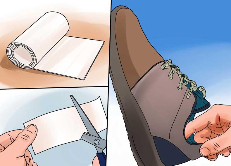 جلوگیری از تاول زدن پا