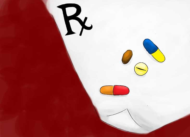 دارو درمانی میخچه