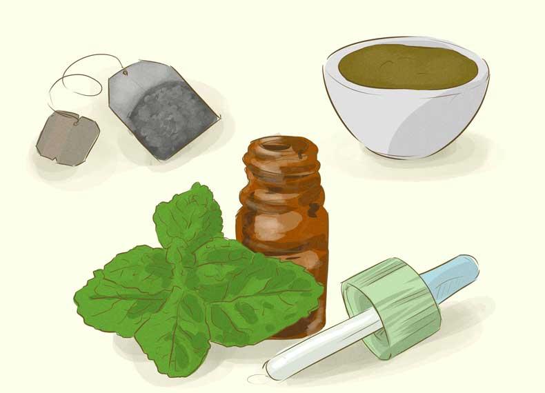 درمان گیاهی جوش بدن