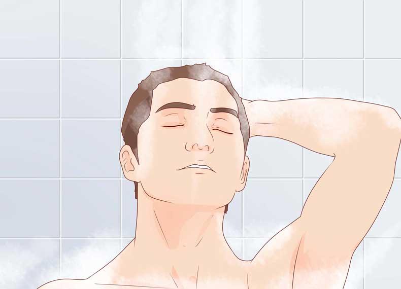 حمام و اگزما