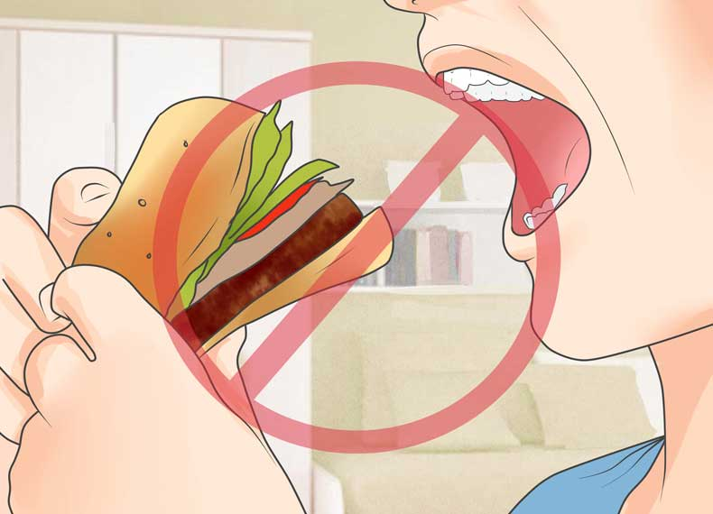 مواد غذایی ممنوعه اگزما