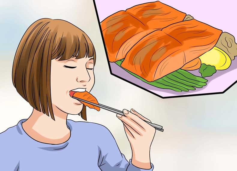 موادغذایی مفید برای اگزما