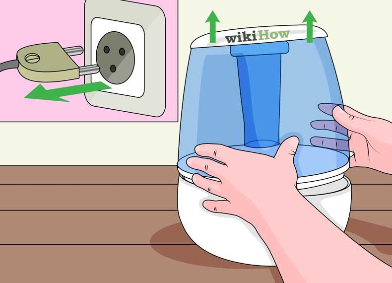 تمیز کردن اصولی بخور سرد
