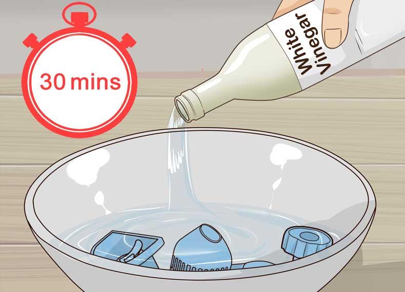 شستشوی بخور گرم