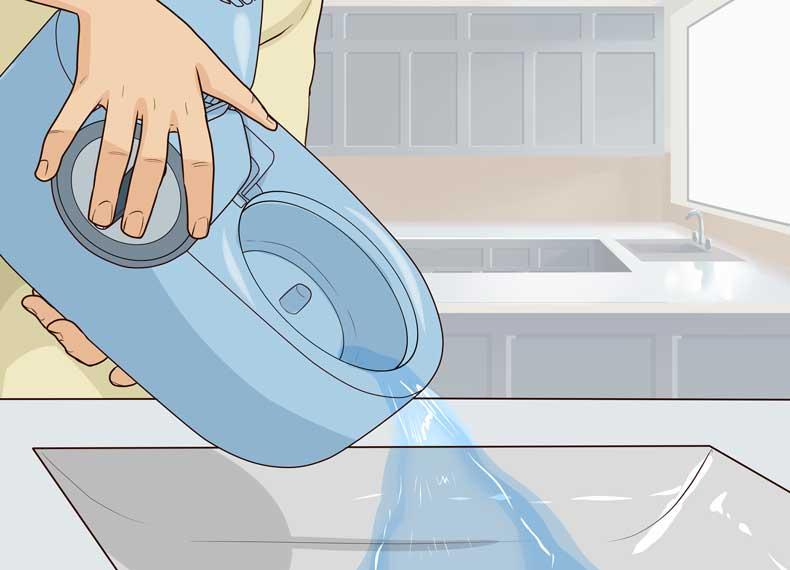 نظافت دستگاه بخور گرم